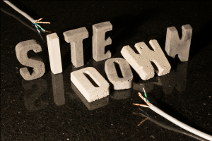 Site down! How a prolonged server outage affected our site